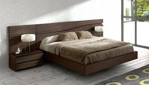 bed design with side table bedroom design integrating floating queen platform beds headboards