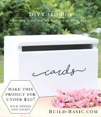 diy wedding card box best 25 diy wedding card box ideas on diy wedding