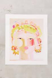 goddess print anthropologie