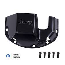 jeep logo rugged ridge dmc 16597 30 differential skid plate jeep logo for