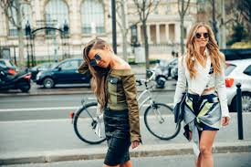 best cycling jacket 2016 best street style paris fashion week fall 2016 teen vogue