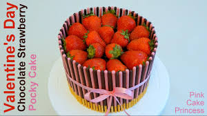 s day strawberries s day gift cake easy no bake chocolate