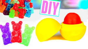 make your own gummy bears diy eos out of gummy bears make lip balm out of candy