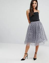 where to buy tulle boohoo metallic foil spot tulle skirt where to buy how to wear
