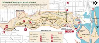 Portland State University Map by Washington Park Arboretum U2014 Washington Trails Association