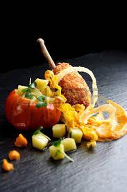 haute cuisine dishes fried duck foie gras with apples haute cuisine dish stock
