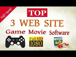 top 3 best game software hd movies download website 2017 youtube