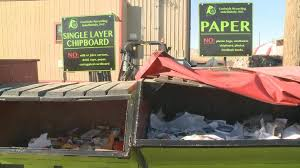 holidays busiest time for trash recycling collectors