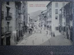 fotos antiguas eibar eibar guipuzcoa calle ybarrecruz postal antigu comprar postales