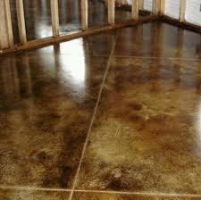 Best Tile For Basement Concrete Floor by 13 Best Concrete Floors Images On Pinterest Concrete Staining