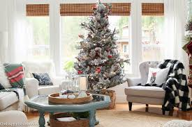Living Room Tours - classic christmas living room tour the happy housie
