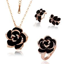beautiful earring necklace set images Beautiful jewelry flower fashion jewelry beautiful jewelry sets jpg