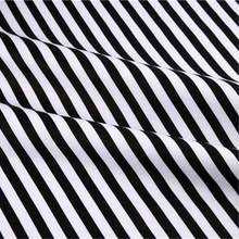 Black And White Striped Upholstery Fabric Popular Black Stripe Fabric Buy Cheap Black Stripe Fabric Lots