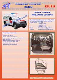 ambulance isuzu d max ambulance center 081212173882