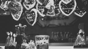black and white christmas wallpaper christmas market black and white 4k hd desktop wallpaper for 4k