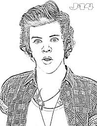 10 printable one direction coloring pages 10 j 14