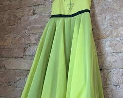 green princess dress etsy