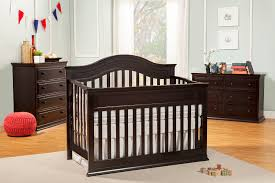 Simmons Convertible Crib by Davinci Kalani 4 In 1 Convertible Crib With Toddler Rail Cherry