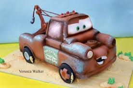 3d cake tow mater 3d cake by verusca on deviantart