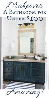 Decorating Ideas For Bathrooms On A Budget The 25 Best Budget Bathroom Ideas On Pinterest Small Bathroom