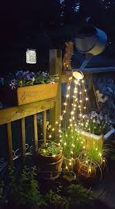 String Of Flower Lights by Glowing Watering Can With Fairy Lights Page 2 Of 2 Smart