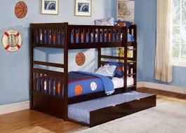 Bunk Bed Storage Homelegance B2013dc 1 Rowe Dark Cherry Trundle Twin Twin Bunk Bed