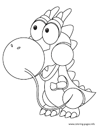 cute baby dragon coloring pages printable