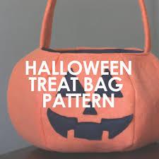 halloween candy bag halloween treat bag u2013 upcraft club