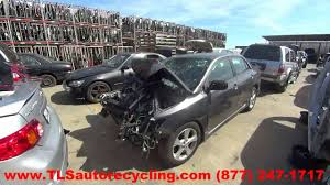 parting out 2011 toyota corolla stock 6087rd tls auto recycling