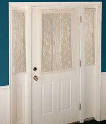 Curtains For Glass Door Interior Door Curtain Half Window Curtains Interior Panel Target