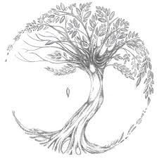 Tattoo Add On Ideas Tree Of Life Tattoo Add Nest With 2 Eggs And 4 Forget Me Nots