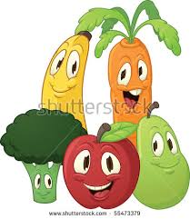 cute old fashioned lady with basket of fruit veggie clipart collection