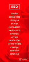 red color psychology tazekaaromatherapy red forever