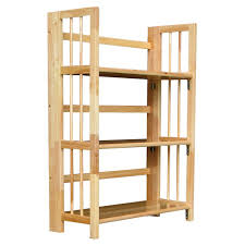 Foldable Bookcases 3 Tier Stackable Folding Bookcase Hayneedle