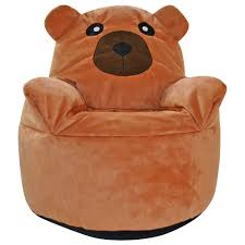 kids animal design armchair beanbag indoor bedroom pillow cushion