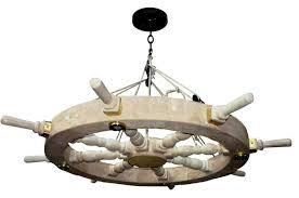 themed chandelier nautical chandelier edmund fitzgerald inspired lc545