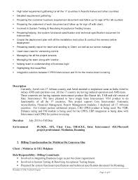 Resume Requirements Resume 12yrs Exp