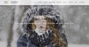 20 best stunning free photography website templates html