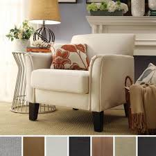 Microfiber Accent Chair Tribecca Home Uptown Modern Accent Chair Mocha Microfiber