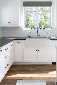 white kitchen cabinets tile floor white kitchen cabinets with black hardware countertopsnews