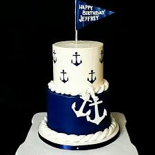 nautical cake nautical buttercream birthday cake pinteres