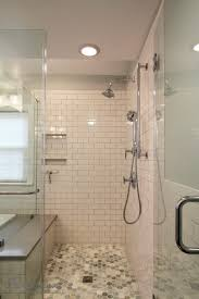bathroom walk in shower ideas articles with contemporary white tile shower tag modern tile