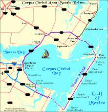 map of corpus christi maps