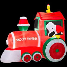 Discount Christmas Inflatable Yard Decorations by Cheap Snoopy Inflatable Christmas Find Snoopy Inflatable