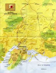 Wasilla Alaska Map by Alaska Native Heritage Center