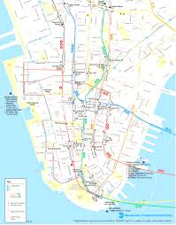 Downtown Manhattan Map Map Of Nyc Tourist Attractions Sightseeing Tour Adorable Manhattan
