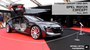 concept cars 2014 exposition concept cars 2014 opel monza concept