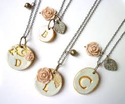 Cheap Personalized Necklaces Best 25 Diy Initial Necklace Ideas On Pinterest Diy Necklaces
