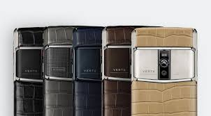 vertu luxury phone vertu signature touch alligator collection will now come in two