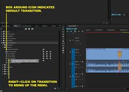 tutorial editing video di adobe premiere how to use audio video transitions in premiere pro cc